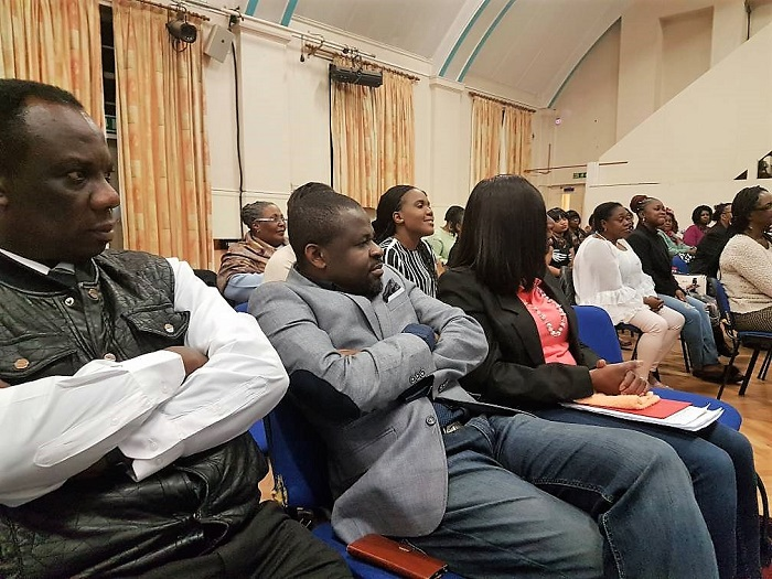 Rev. Agnes Odoi Ministering in UK